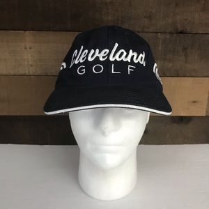Cleveland golf blue embroidered hat